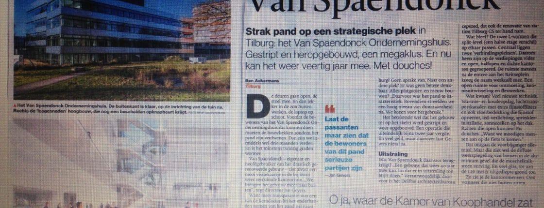 Van Spaendonck krant