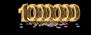 1000000 medewerkers